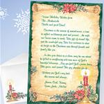 Custom Holiday Letter