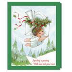 Christmas Cards - Speeding A Greeting Christmas Card Set/20