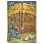 Religious - Gatefold Nativity Christmas Card Set/20