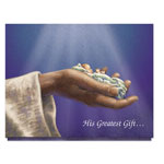 Christmas Cards - His Greatest Gift Christmas Card Set/20