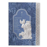 Religious - Silver Nativity Christmas Card Set/20