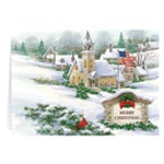 Religious - God Bless America Christmas Card Set of 20