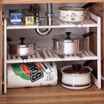 Storage & Organizers - Under Sink Expandable Shelf