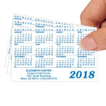 Personalized Glossy Plastic Calendars, Set of 50