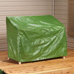 "Patio Lounge Chair Cover, 64"" L x 33"" H x 37"" W, Green"