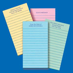Memos, Notepads & Cards - Personalized Memo Pads