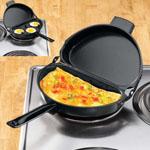 """Omelet Pan, 10 3/4"""", Black"""
