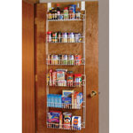 Storage & Organizers - Over The Door Metal Storage Rack