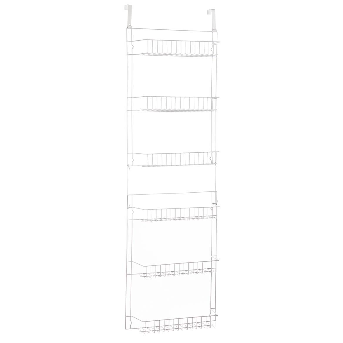 Over The Door Metal Storage Rack