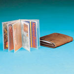 Handbags & Wallets - Plastic Wallet Inserts