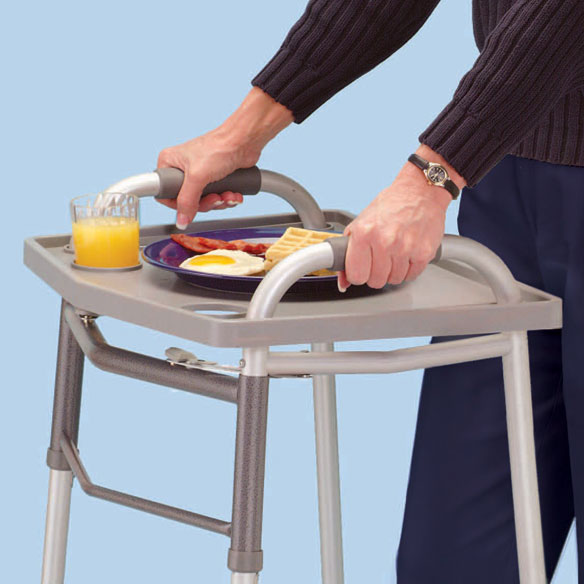 Dinner Transport Walker Tray