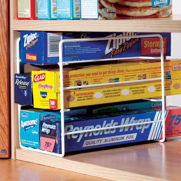 Kitchen Wrap Organizer