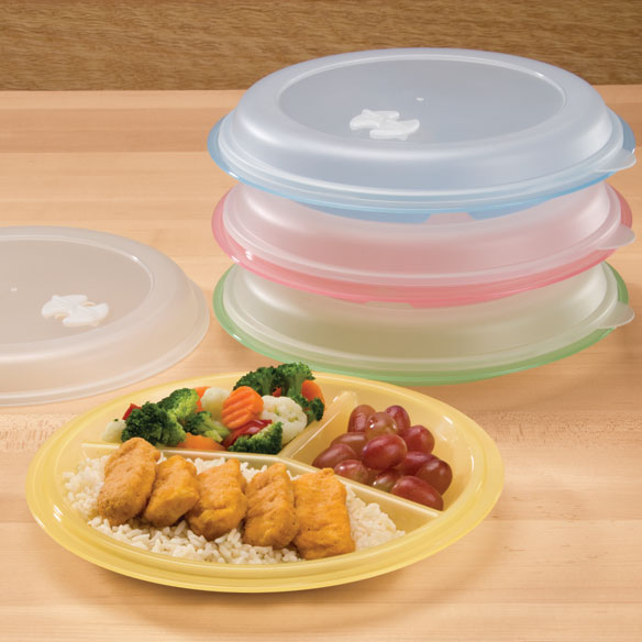 Divided Plates And Food Storage Containers