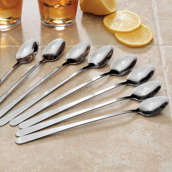 Iced Tea Spoons - Set of 8