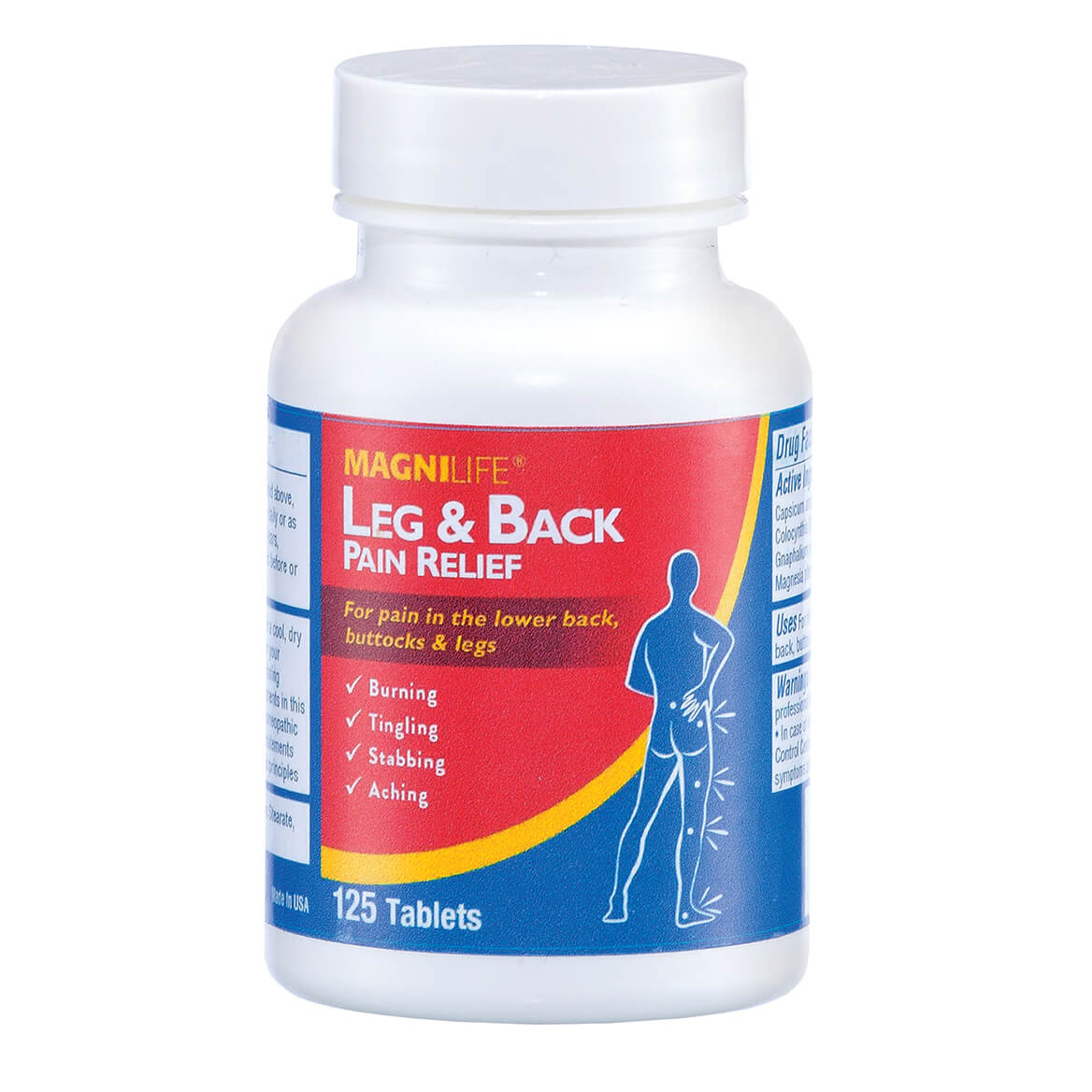 MagniLife® Leg & Back Pain Relief Tablets-304766