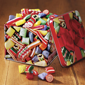 Hammonds® Old Fashioned Christmas Candy Tin