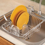 Cleaning & Repair - Over The Sink Dish Drainer Rack