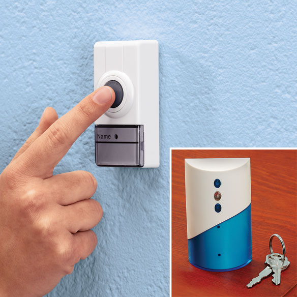 Wireless Doorbell, Multicolor Take this wireless doorbell with you around the house, basement, garage, or yard, and never miss guests or deliveries! Wireless doorbell is 2 1/2 wide x 4 1/2 high receiver emits 16 pleasant chimes or songs-working up to 262 feet from remote with three AA batteries (not included). Waterproof 2 1/2 long x 1 1/2 wide remote mounts without tools to door, camper, or RV; requires 1x3V lithium battery (included). Plastic.We apologize for any inconvenience; however, this item is not available for shipment to Alaska, Hawaii, Puerto Rico or other U.S. territories.