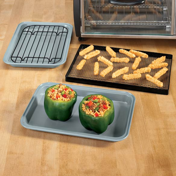 Toaster Oven Pans - Set of 3