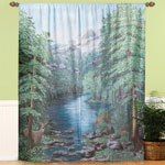Decorations & Accents - Window Art Curtain Treatments