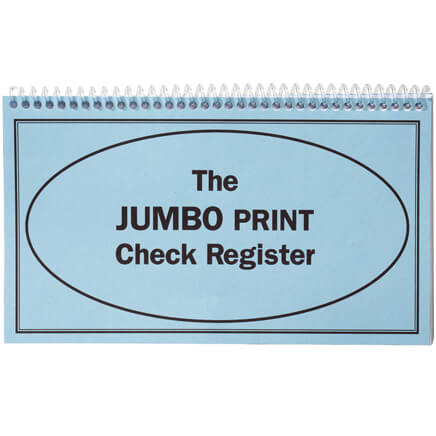 Large Print Check Registers  Check Register  Walter Drake