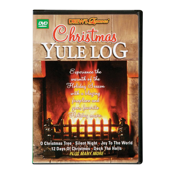 Christmas Yule Log Fireplace Video