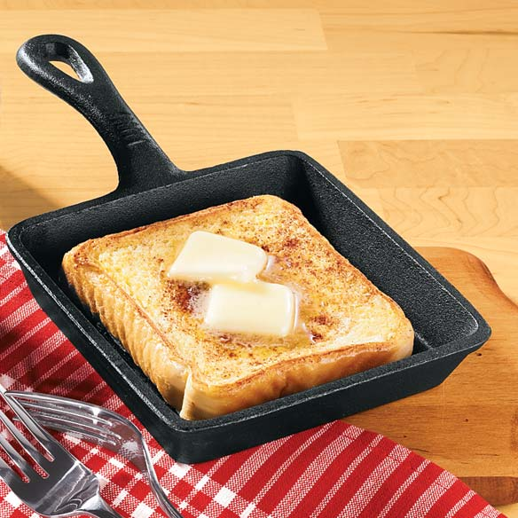Mini Square Cast Iron Skillet Pan