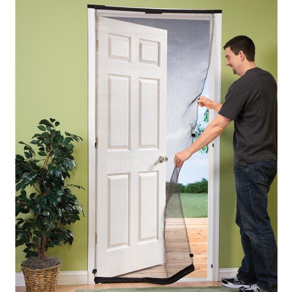 Hanging door screen