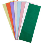 Pastel Color Tissue Paper - 24 Sheets