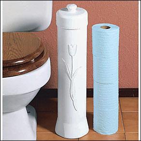 Toilet Tissue Storage Tower
