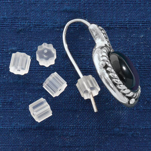 Rubber Earring Backs - Set Of 12