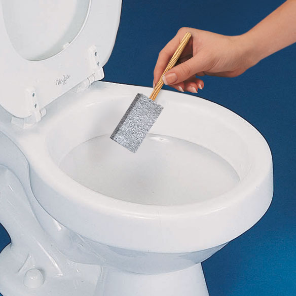 how to clean mineral deposits from toilet bowl