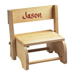 Hobbies - Wooden Personalized Children's Chair