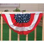 Decorations & Storage - Patriotic American Flag Bunting