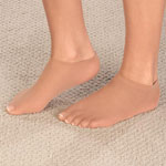Footwear & Hosiery - No Show Liner Socks