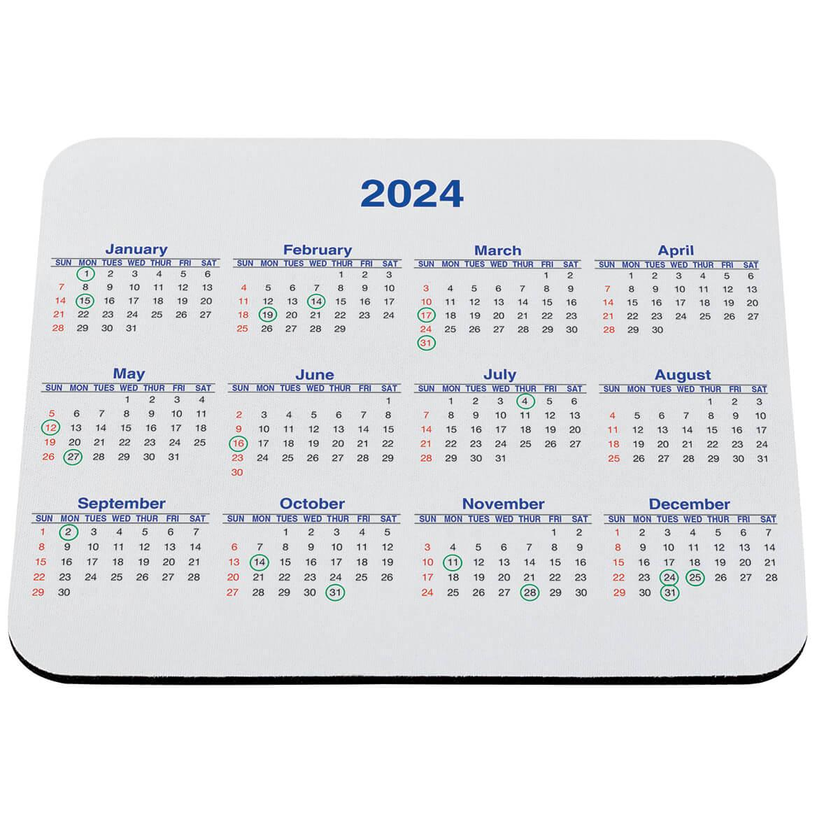 Calendar Mouse Pad-311170