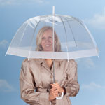 Auto & Travel - Clear Dome Umbrella
