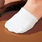 Footwear & Hosiery - Toe Half Socks