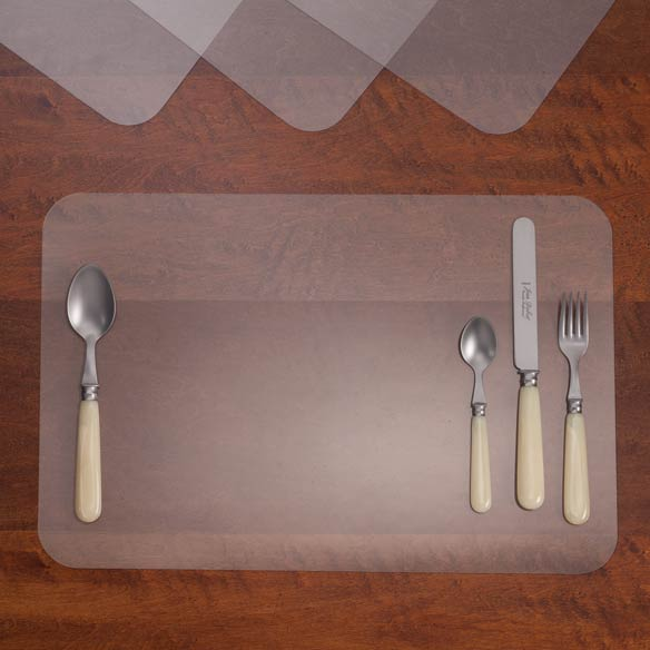 Clear Plastic Placemats