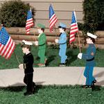 Lawn & Garden - Lawn Military Stake