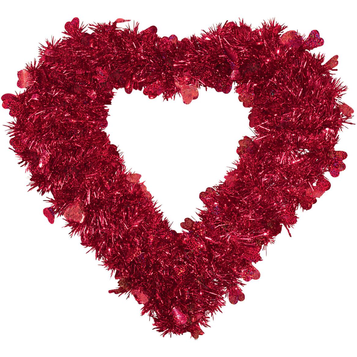 Valentine Glitter Wreath by Holiday Peak™-312278