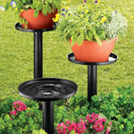Lawn & Garden - Outdoor Plant Stand - Set Of 3