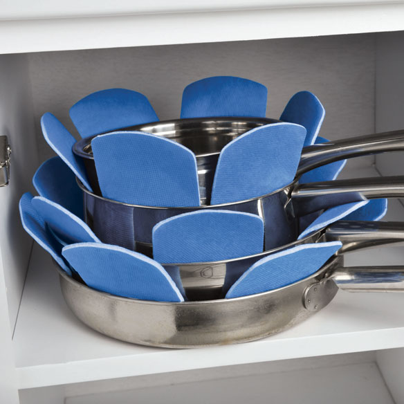 Space Saving Pot And Pan Protectors