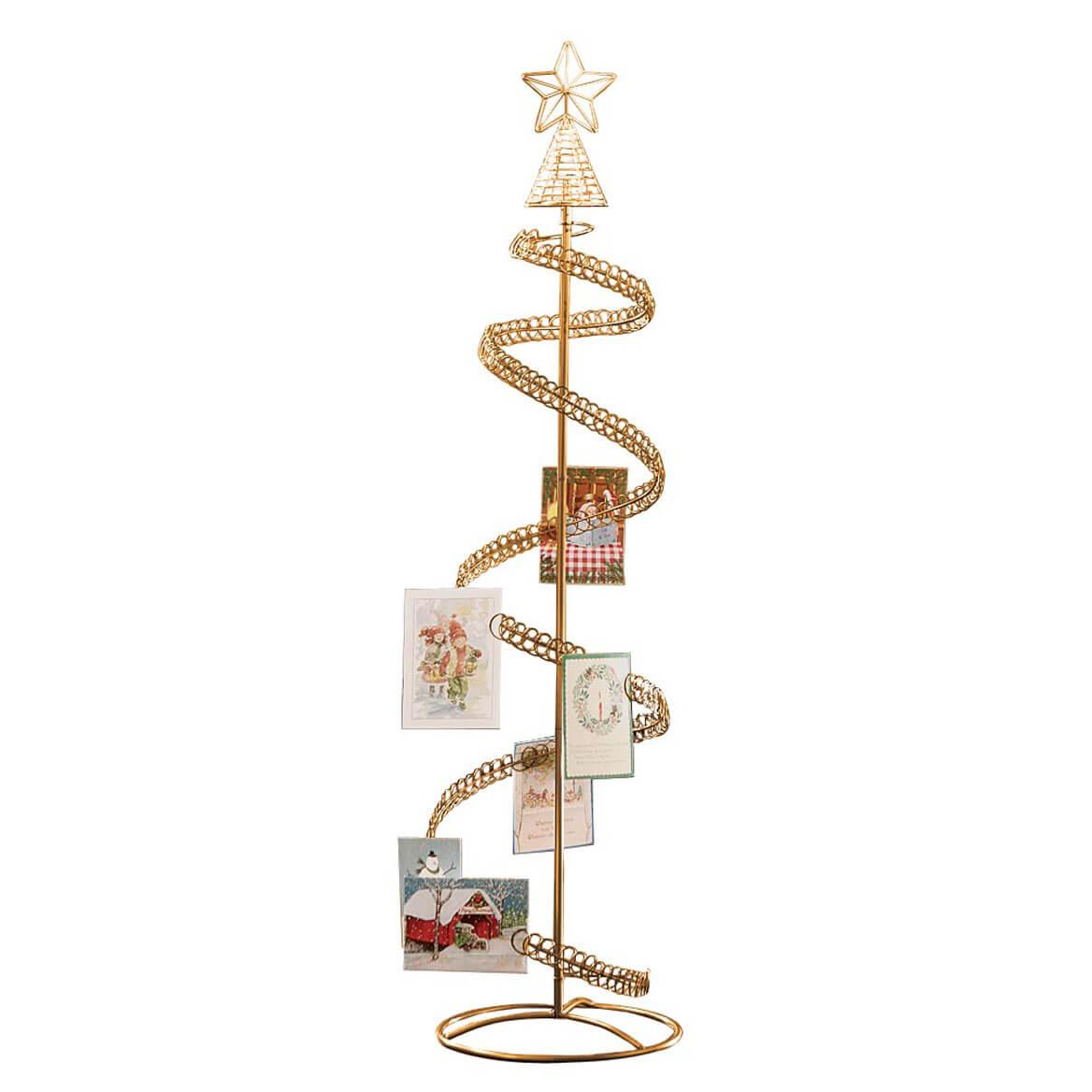 Spiral Tree Card Holder - Christmas Card Tree Holder - Walter Drake