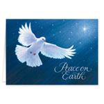 Religious - Dove of Peace Religious Verse Christmas Card Set of 20