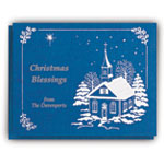 Unique Personalization - Personalized Religious Christmas Cards