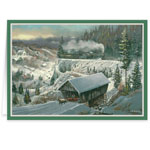 Secular - Ted Blaylock Winter Scene Christmas Cards
