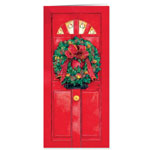 Labels & Stationery - Christmas Door Those I Love Christmas Card