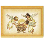 Religious - Angels and Baby Christmas Card Set/20