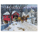 Secular - Home for Christmas Card Set/20